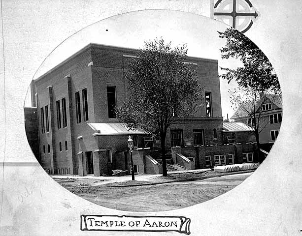Temple of Aaron in 1916. Courtesy of Minnesota Historical Society.