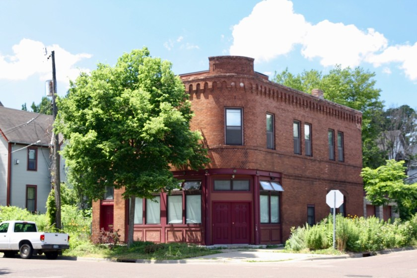 This former cigar factory and artist studio, at 629 Kent Street at Lafond, was built in 1903. Ramsey County tax records say it is now a single family residence.