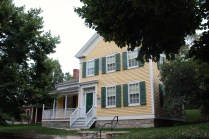 38 Irvine Park, circa the late 1850s, was moved to Irvine Park from Woodbury in the 1980s.