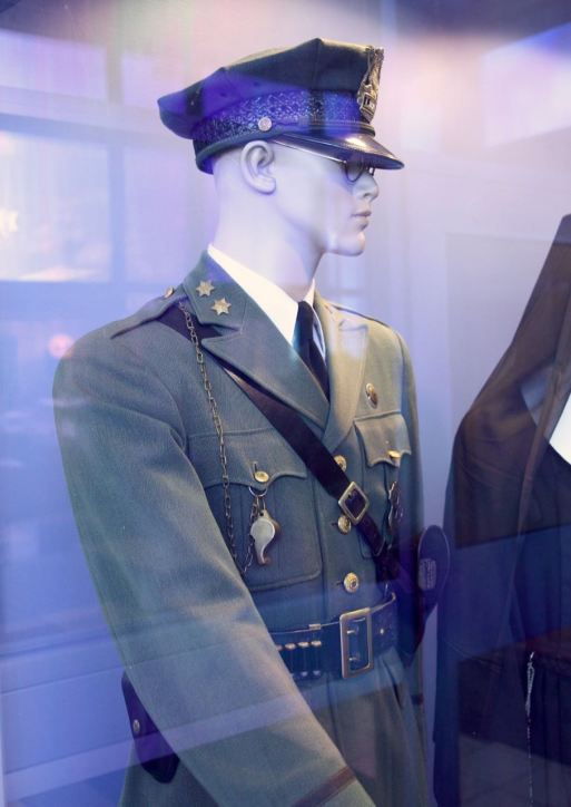 """The family of Lieutenant Frank Hetznecker donated his uniform to the museum, which Nelson appreciates. """"When the families entrust us with those kind of things, we love it, first of all, and we'd like to show that so anybody can see it."""""""