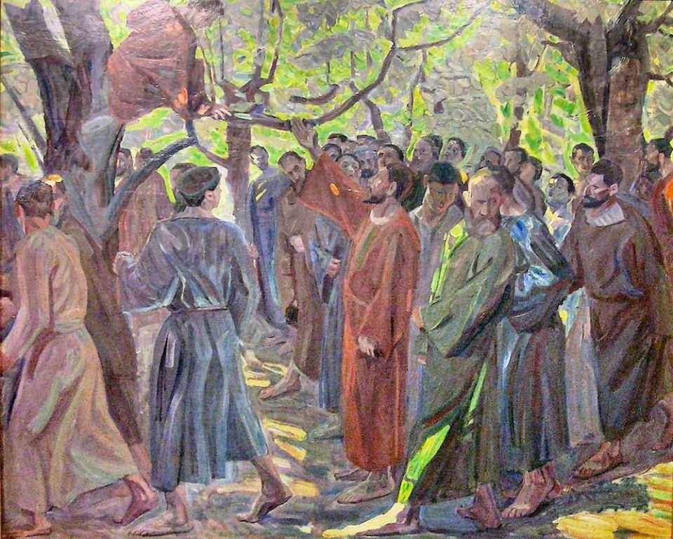 """""""Zakaeus"""" by Niels Larsen Stevns"""