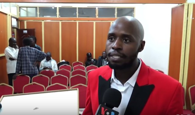 David Ochal, pastor of the Cosmopolitan Church in Nairobi, Kenya. (Photo courtesy of YouTube)