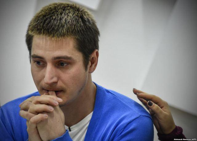 Maksim Lapunov (Aleksandr Nemenow photo courtesy of AFP)