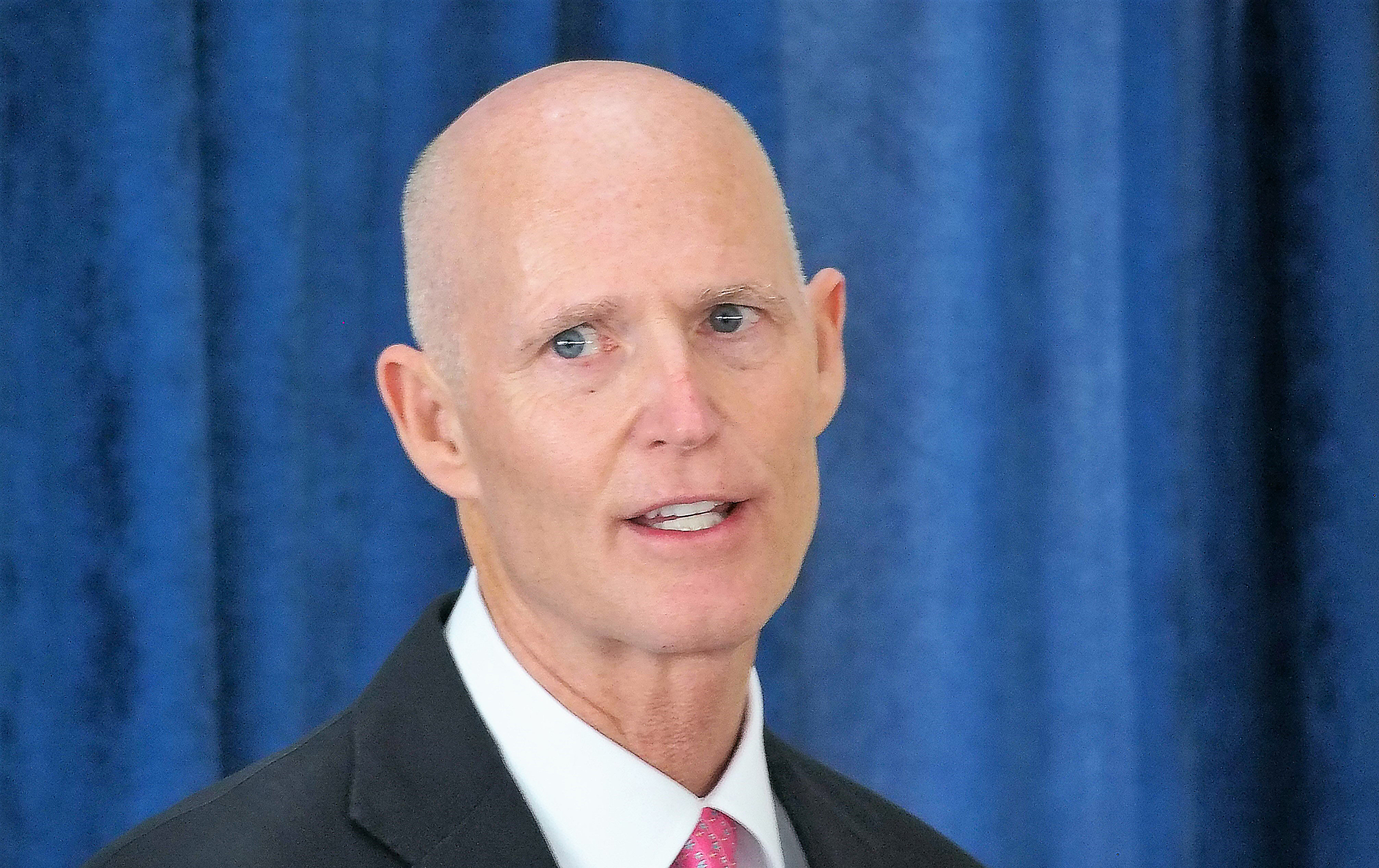 Rick Scott and Richard Corcoran in town for