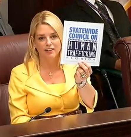 Florida's Att. General Wants You To Spot Human Trafficking