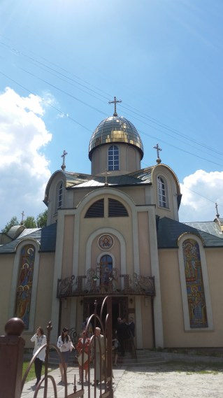 The parish where the Hierarchical Divine Liturgy was celebrated.