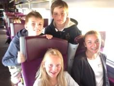 Départ en TGV