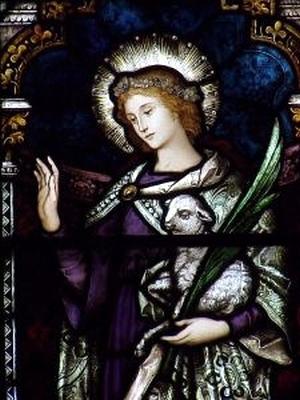 [Saint Agnes of Rome]