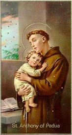 Saint Anthony of Padua, pray for us!