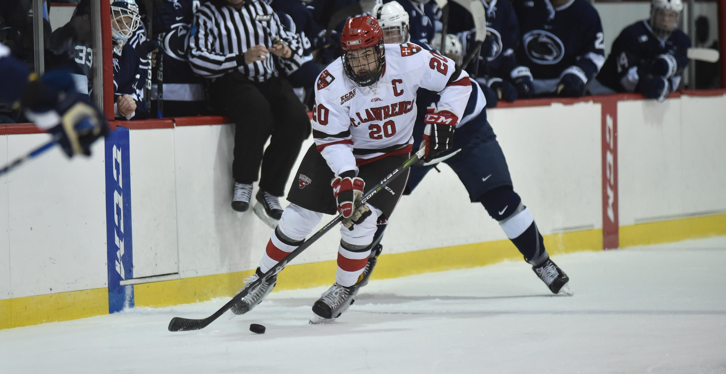 Image result for photo of joe sullivan st. lawrence hockey