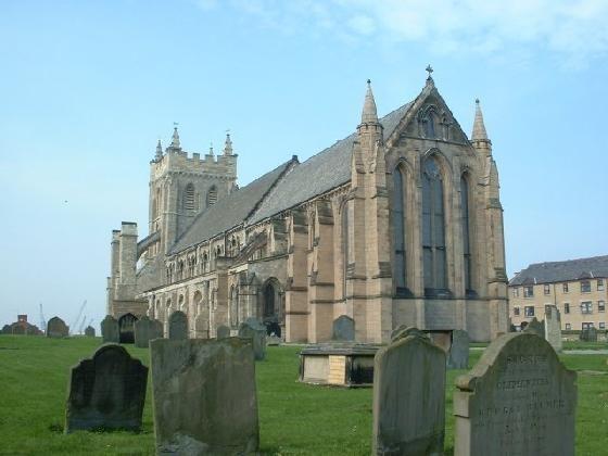 St. Hilda's Church i Hartlepool i grevskapet Durham