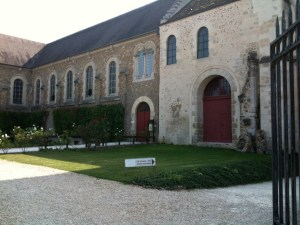Jouarre where Abbess Theodechilde served. Visited this beautiful place in September 2009
