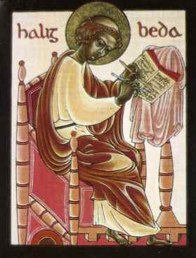 Icon of Bede. Writer of the icon is unknown