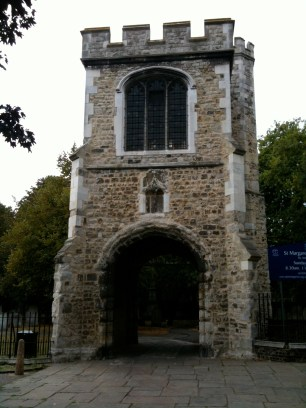 Gate into St. Mary's Church and the ruins of Barking Abbey
