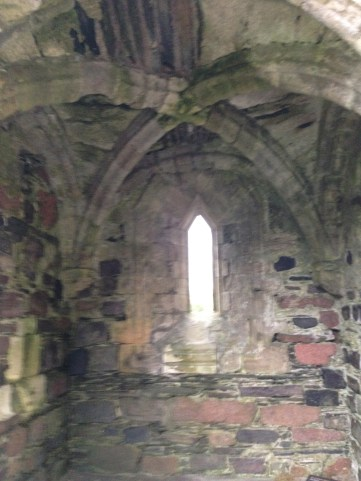 Sacristy of Iona Nunnery. Photo taken Sept. 2014