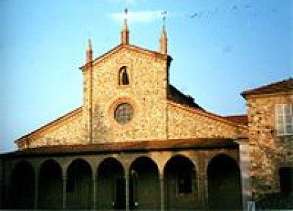 St. Columbanus Basilica at Bobbio, Italy