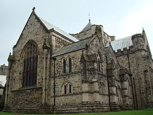 Bangor Cathedral. View from East