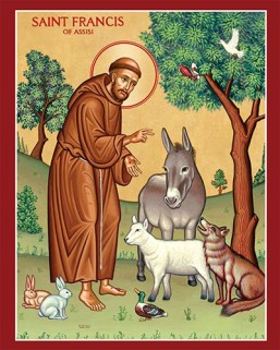 st-francis-assisi-prayer-card-641wy9-clipart