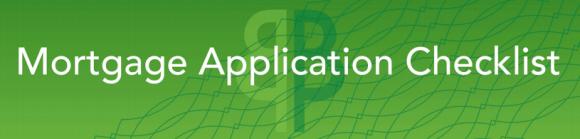 BrandMortgage Application Checklist
