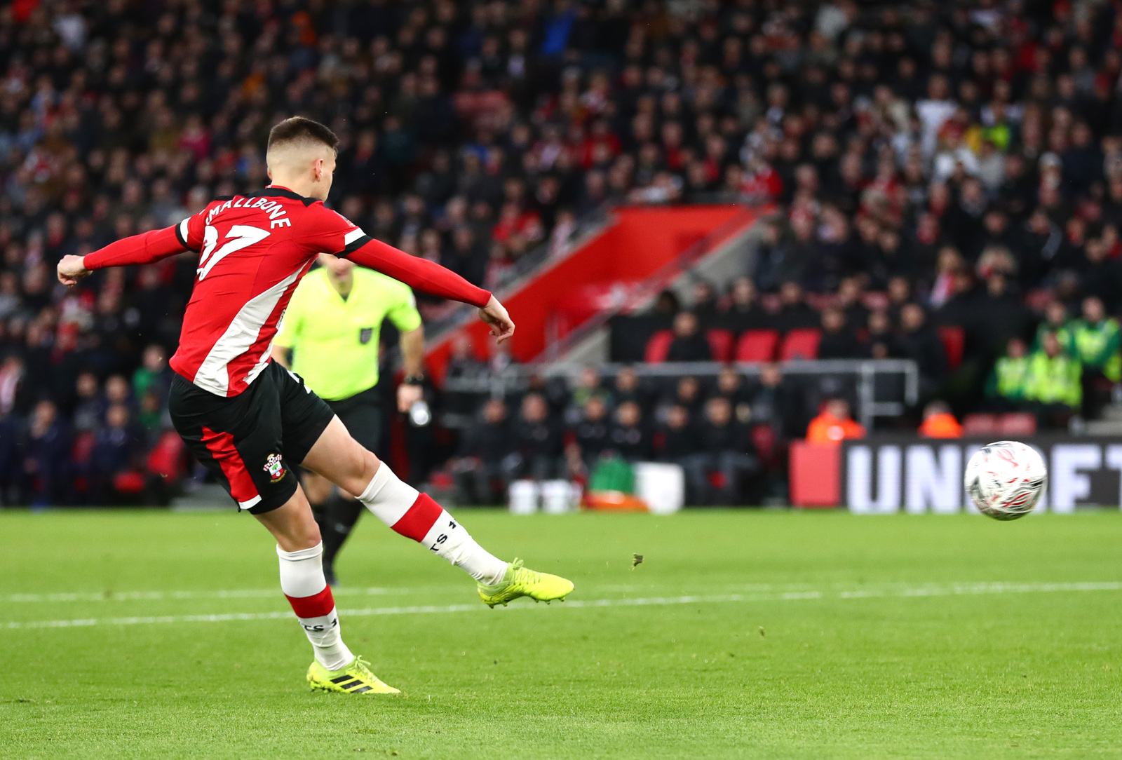 Southampton: Saints midfielder Will Smallbone reacts to FA Cup heroics