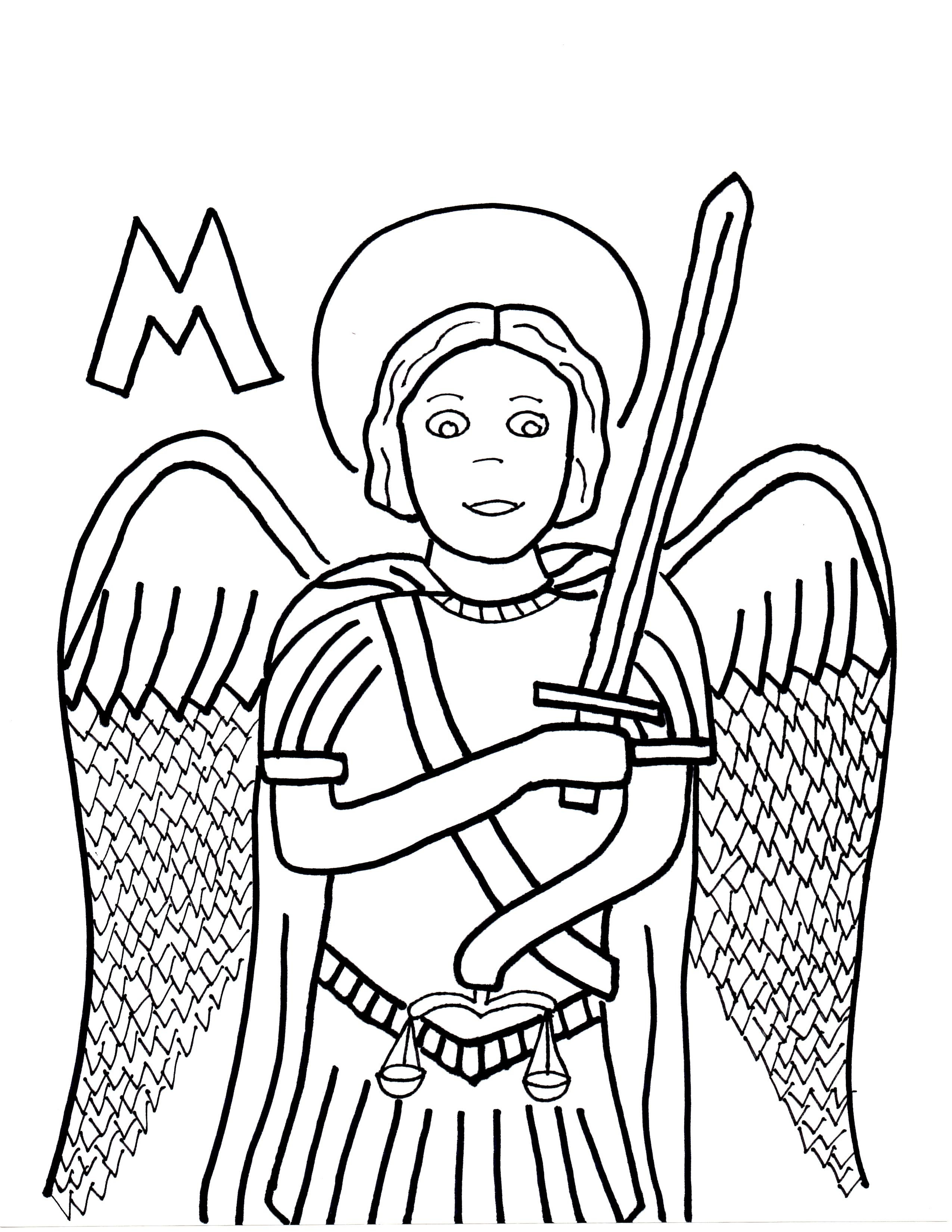 M Is For St Michael The Archangel