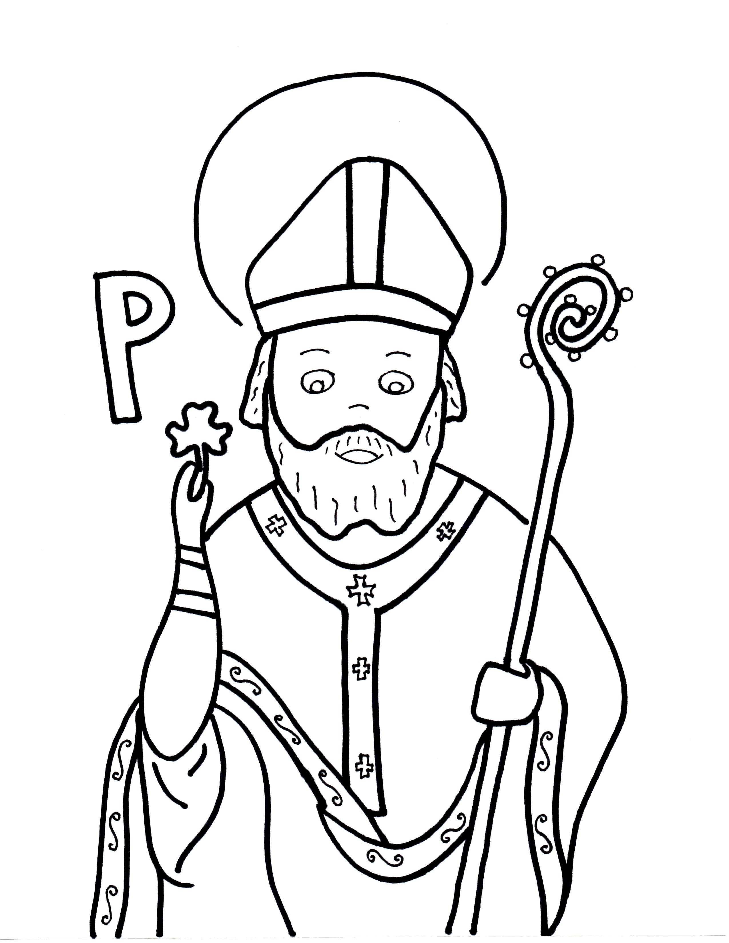 P Is For St Patrick