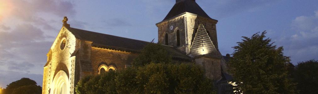 Eglise de Saint Valérien en Vendée entre la Roche-sur-Yon et Fontenay-le-Comte