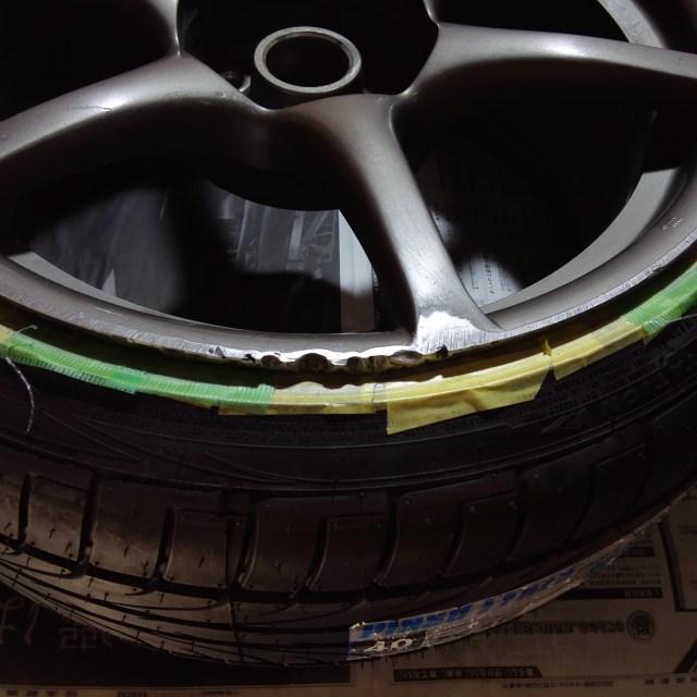 スカイライン R34 GT-R 純正18インチホイール カラーチェンジ