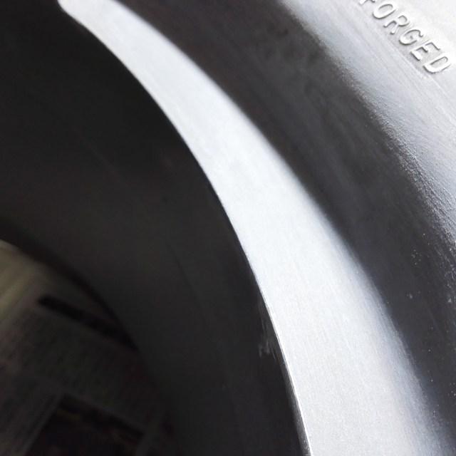 スカイライン R34 GT-R 純正18インチホイール カラーチェンジ 磨き