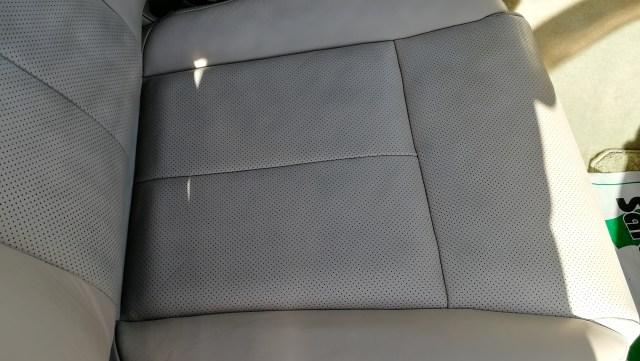 フーガ 運転席シートリペア不良補修 安城市 施工後