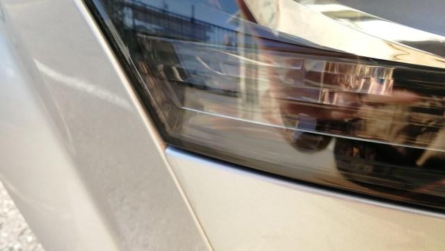 アウディTT RS ヘッドライトコーティング スパシャンヘッドライトスチーマー2 豊田市 施工後