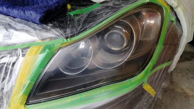 キザシ スパシャン ヘッドライトスチーマー ヘッドライトコーティング 名古屋市 磨き