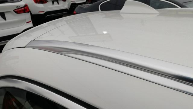 BMW 523iツーリング メッキモールコーティング後