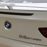 BMW アルピナB6 メッキモールコーティング