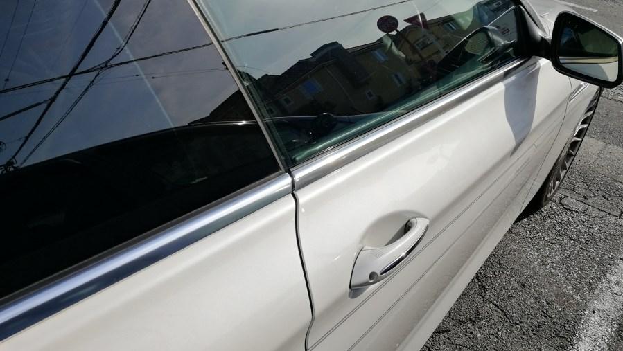 BMW アルピナB6 メッキモールコーティング後