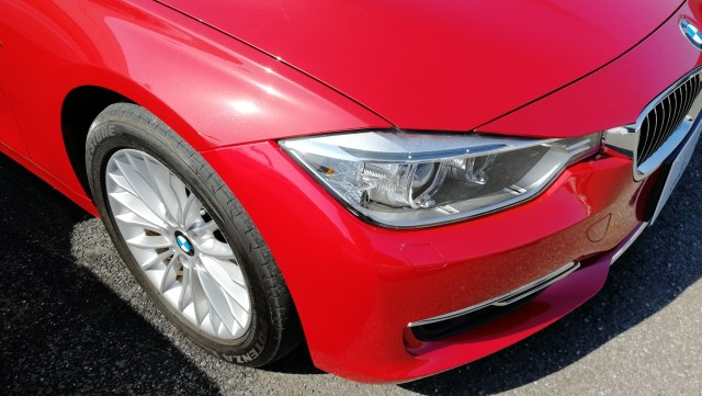 BMW 320i メッキモールコーティング