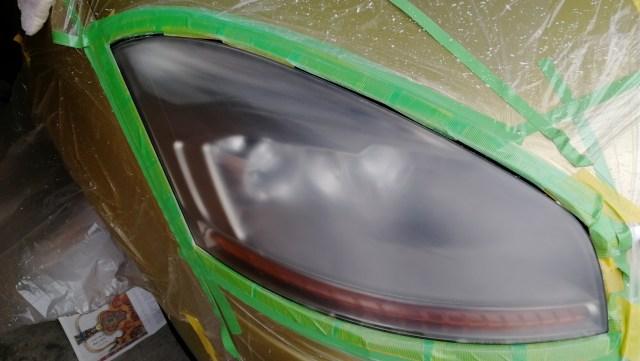 シトロエン C4ピカソ ヘッドライトコーティング ハードコート