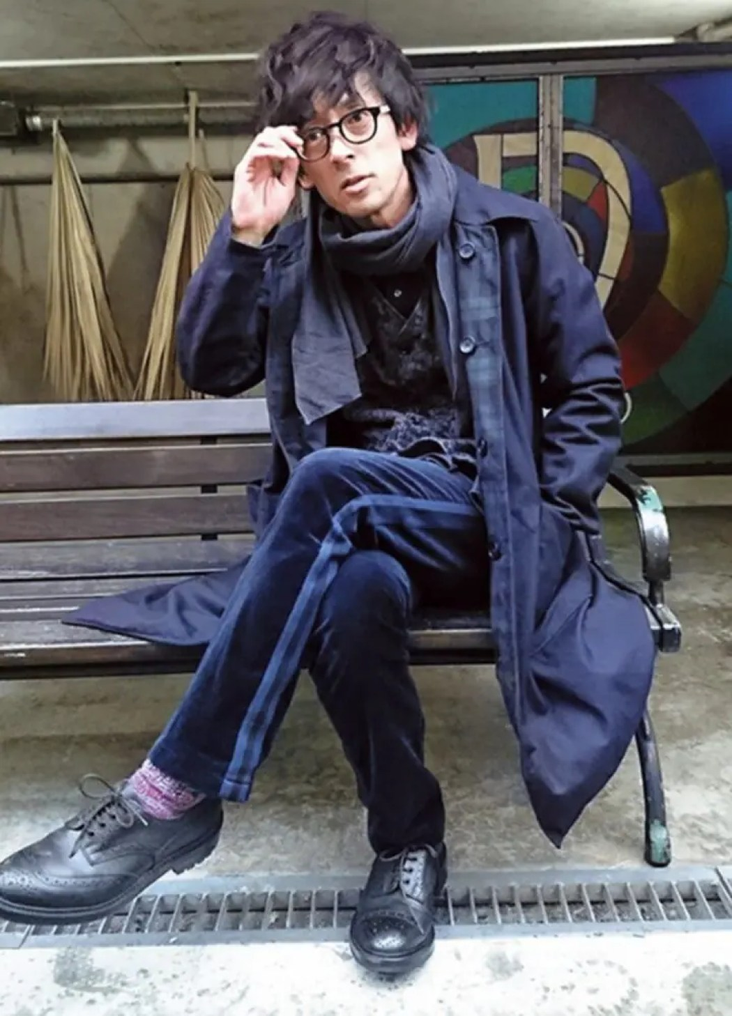 滝藤賢一の私服画像