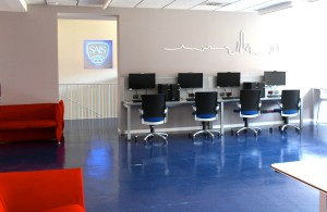 The new lounge was unveiled at SAIS Europe on Sept. 13. (Rachel Finan)