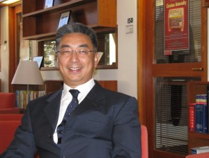 Professor Dong Guoqiang has been teaching at the Hopkins-Nanjing Center since 2005. (Photo Courtesy of Prof. Dong)