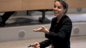 Erin Meyer INSEAD Classroom