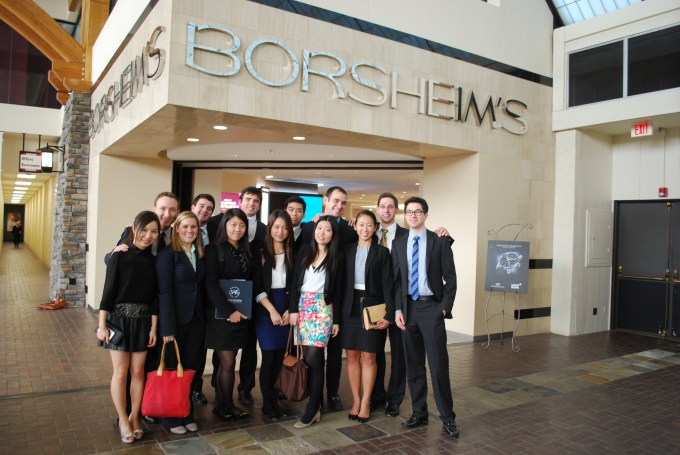 SAIS International Finance Club members toured two of Warren Buffett's subsidiaries, including Oriental Trading Company and Borsheim's, a fine jewelry seller headquartered in Omaha, Neb., as part of their trip to meet Buffett last Friday.