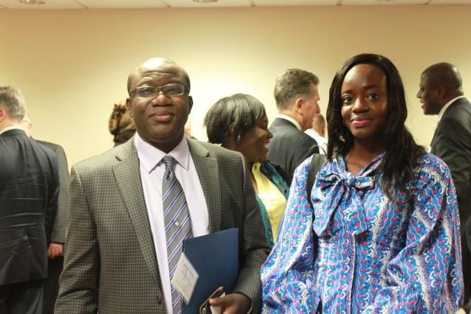 Kayode Fayemi, former Governor, Ekitit State, Nigeria; Zirra Banu, SAIS