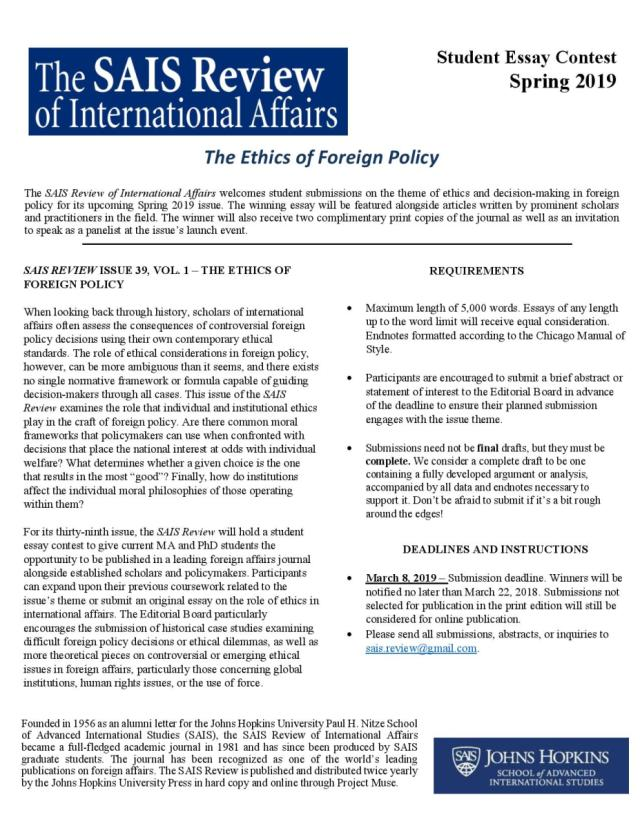SAIS Review Call for Student Submissions (2)-page-001 – The