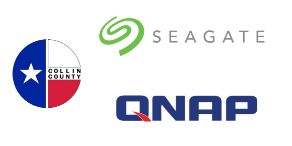 Saitech successfully implements Network Attached Storage (QNAP) & Disk Space Project (Seagate) for Collin County, TX.