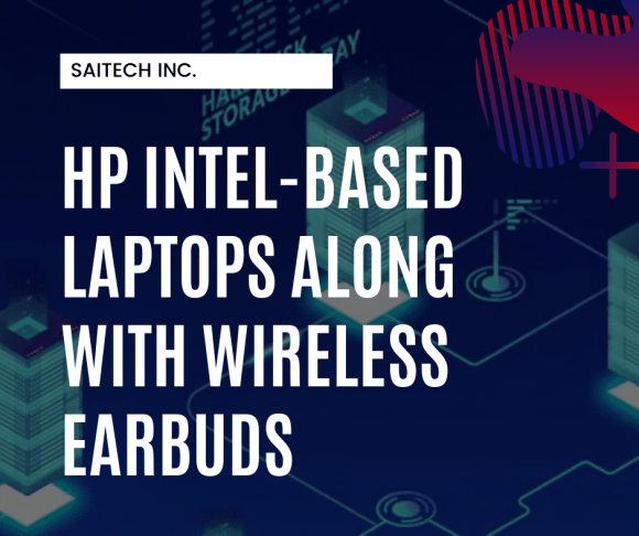 HP Launches New Intel-Based Laptops Along With Wireless Earbuds