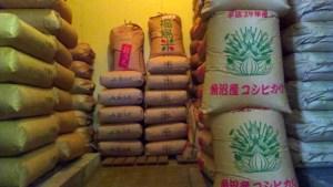 お米の低温加湿貯蔵