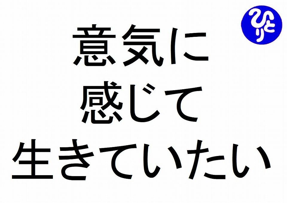 意気に感じて生きていたい斎藤一人 仕事がうまくいく315のチカラ267