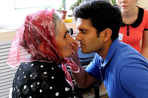 01 - Kazakhstan - Doctor Performing Eye Examination (1)