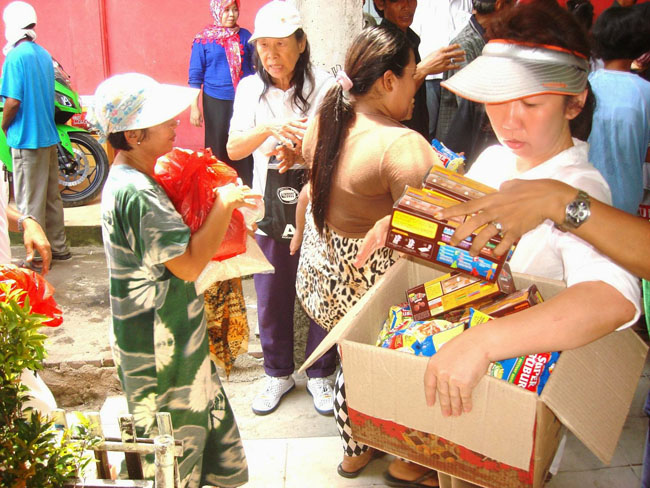 Food and Supplies for the Elderly and the Needy